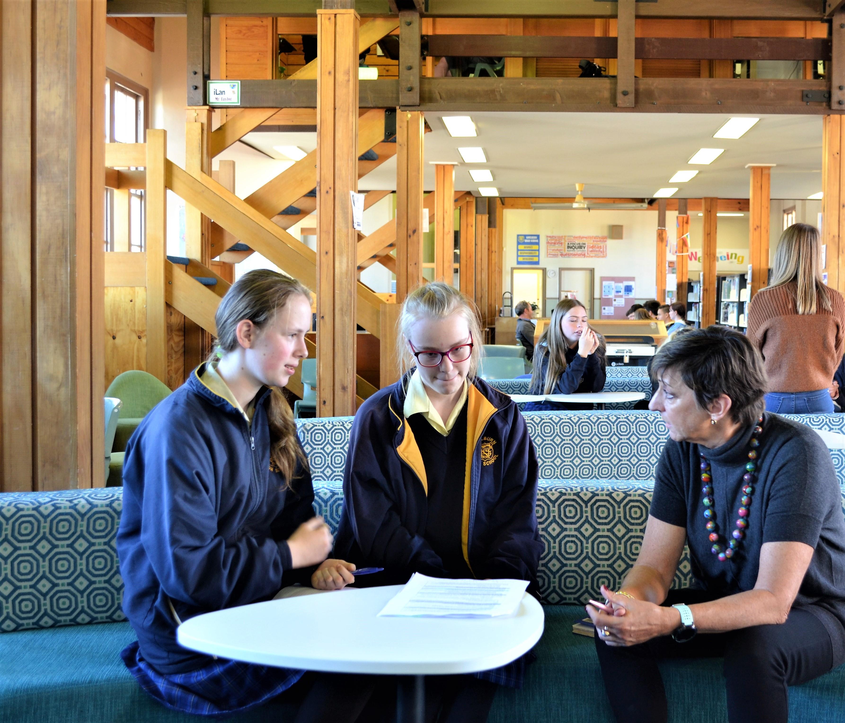 Goulburn High School partners with Goulburn Hospital Redevelopment team